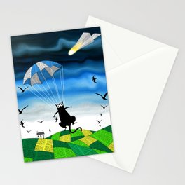 Paper Parachute Stationery Cards