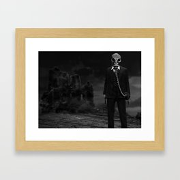 Post Apocalyptic Gangster Framed Art Print