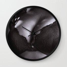 Black Lingerie Wall Clock