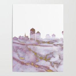 Albuquerque Skyline New Mexico Poster