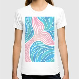 Pink Mermaid's Tail T-shirt