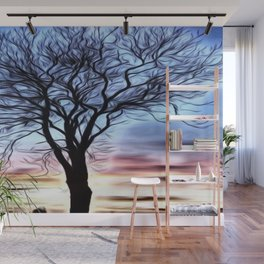 The Lovely Tree Wall Mural