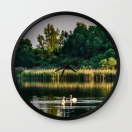 First lesson Wall Clock
