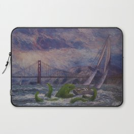 Seamonster's Lunch Laptop Sleeve
