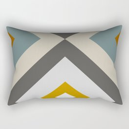 Mid West Geometric 04 Rectangular Pillow