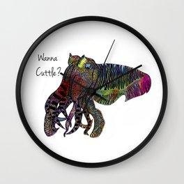 Wanna Cuttle Wall Clock