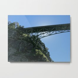 Pass Island Bridge Metal Print