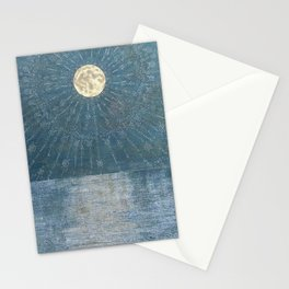 Runic Energies Radiate From Our Moon Stationery Cards