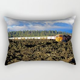 Train Rectangular Pillow
