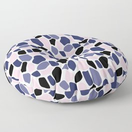 Colored stones samless pattern Floor Pillow