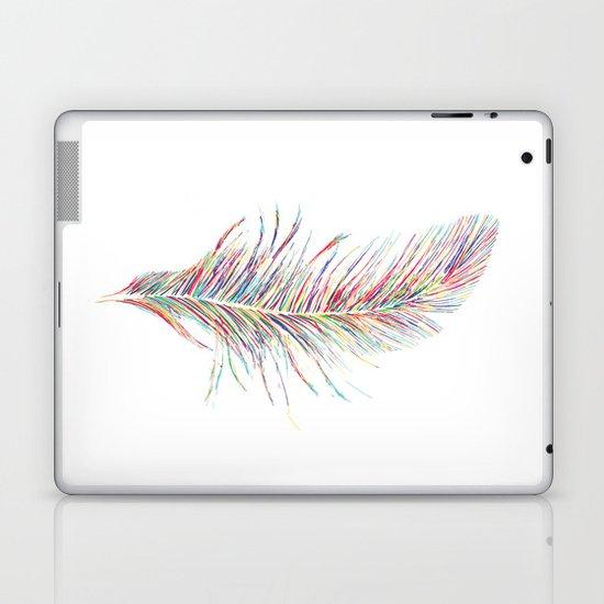 Rainbow Feather  Laptop & iPad Skin