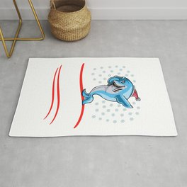 Christmas Let It Snow Rug