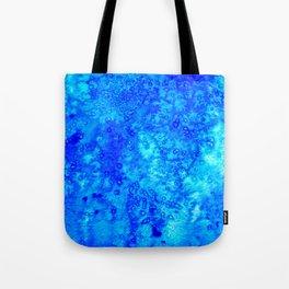 Winter Crystals Tote Bag
