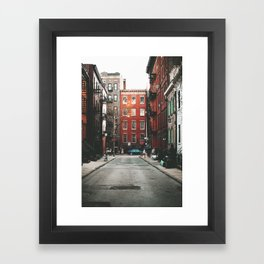 Gay Street NYC Framed Art Print