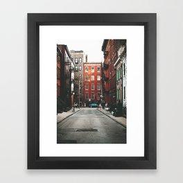Gay Street NYC Framed Art Print