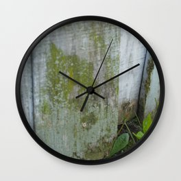 MOSSY IN COLOR Wall Clock