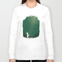 fireflies Long Sleeve T-shirts featuring Fireflies by laurxy