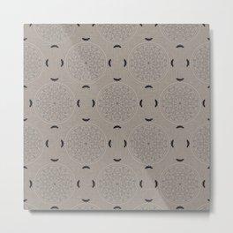 Mascara Rosette Lace Metal Print