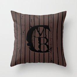 CMB Publishing Logo Throw Pillow