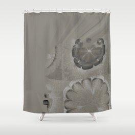 Untenableness Unveiled Flower  ID:16165-132836-04120 Shower Curtain