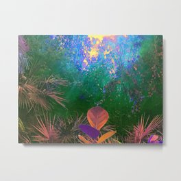 Sunlight in the Enchanted Forest Metal Print