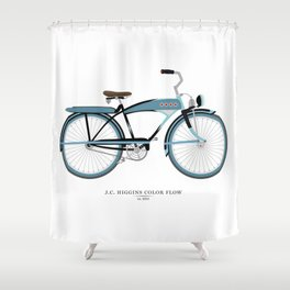 Vintage J.C. Higgins Bike Shower Curtain