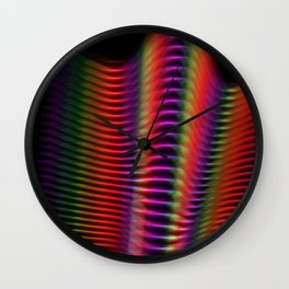 Light in motion two Wall Clock