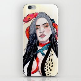 Goddess of Temptation iPhone Skin