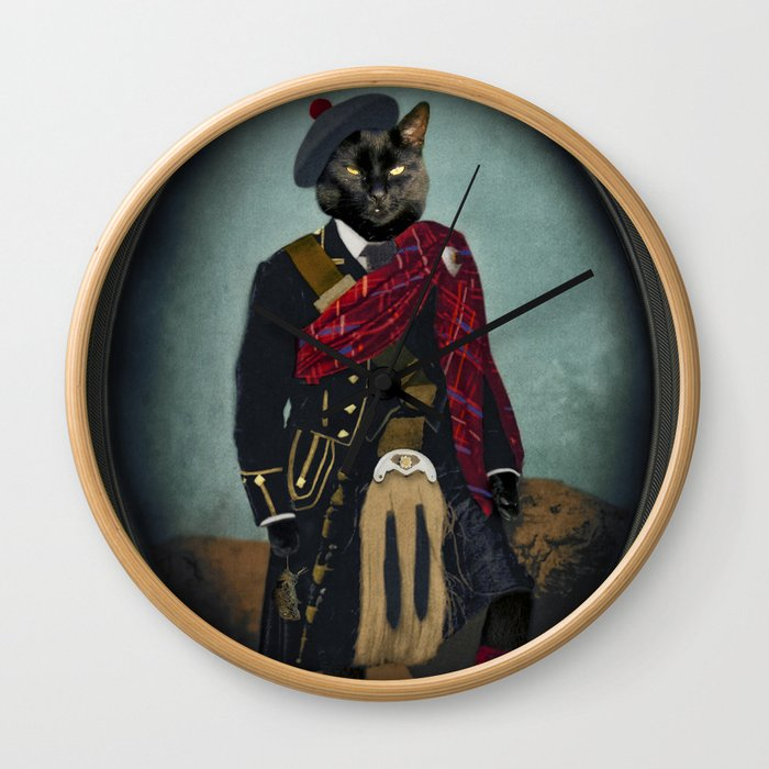 Boris the Bruce, Mouser-in-Chief Wall Clock