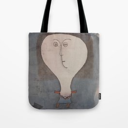 Paul Klee - Fright of a Girl Tote Bag