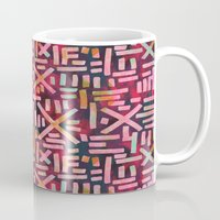 desert Mugs featuring DESERT  by Schatzi Brown