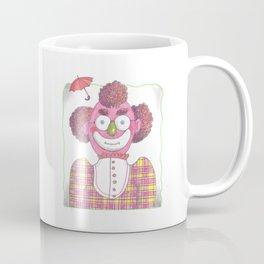 Clown with Umbrellla Coffee Mug