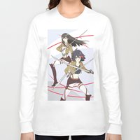 kill la kill Long Sleeve T-shirts featuring Kill la Titans by TEAM JUSTICE ink.