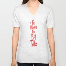 For Whom The Bell Tolls Unisex V-Neck