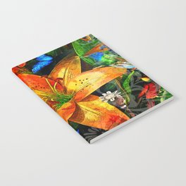 Bright Lilly Notebook