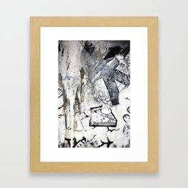 Skate or Pie! Framed Art Print