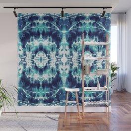 Celestial Nouveau Tie-Dye Wall Mural