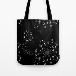 Astrology Zodiac Tote Bag