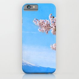 Japan watercolor #1 iPhone Case