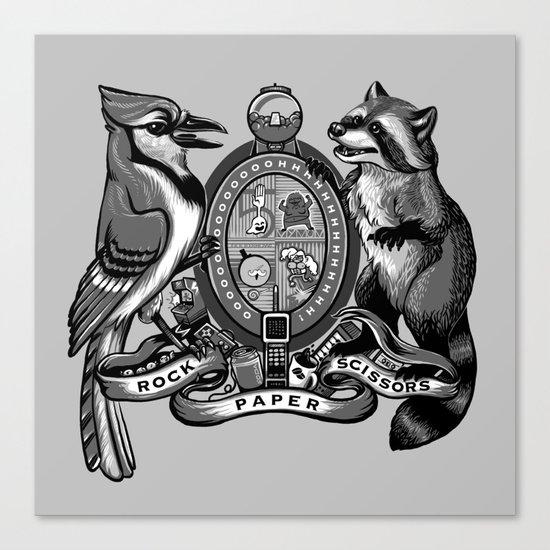 Regular Crest Canvas Print