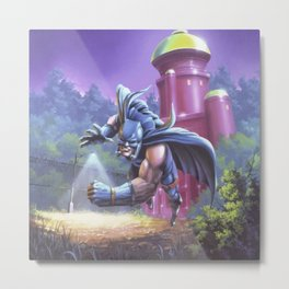Attack of the Mutant Metal Print