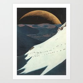 on the bright side Art Print