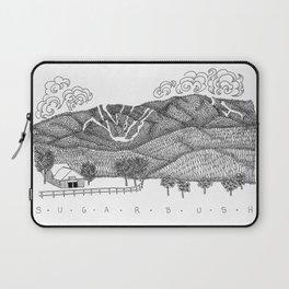 Zentangle Sugarbush, Vermont Laptop Sleeve