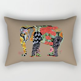 Ms. Ele Phant Rectangular Pillow