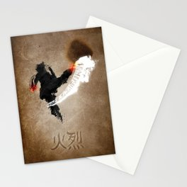 Get Bent :: Fire Stationery Cards