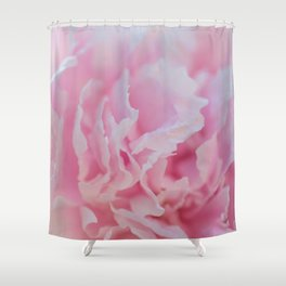 Pink Peony - Flower Photography Shower Curtain