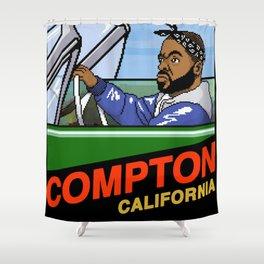 Compton Shower Curtain