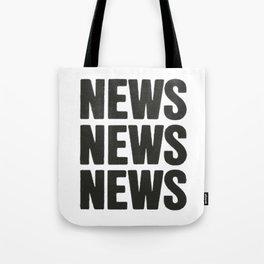 News News News Tote Bag