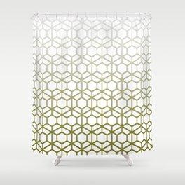 Hexaskene (8.0) Shower Curtain