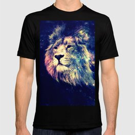 Galaxy Lion : Deep Pastels T-shirt